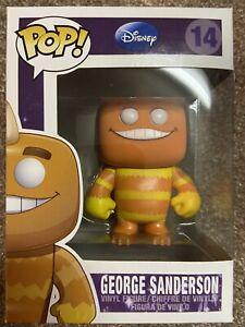 Funko Disney Series 2 George Sanderson Vaulted Retired Rare Pop #14 Vinyl Figure