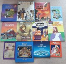 CHRISTIAN PICTURE BOOKS Bible Stories, Easter, Christmas, Faith... LOT of 12