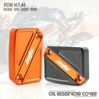 Motorcycle Front Brake Fluid Pump Reservoir Cover Cap For KTM DUKE 125 200 390