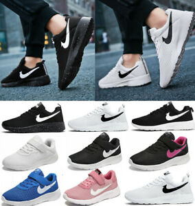 Mens Women Kids Shoes Sport Running Trainers Gym Casual Sneakers Lightweight UK