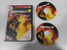 EMERGENCY 3 MISSION LIFE JUEGO PC ESPAÑOL 2 X CD-ROM EDICION ESPECIAL PUNTO SOFT