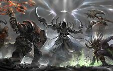 Diablo 3 Ros -  Gear for all Classes - Level 1 ++Hardcore Mode++ Qual 6  - PS3