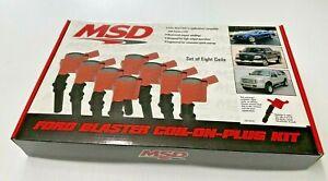 MSD Ford Blaster Coil- On - Plug Modular 3 -Valve 82438 Ford 4.6/5.4L