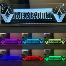 Custom made 12V Renault Truck Cabin Interior  Engraved Usb Led Light,RGB control