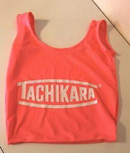 TACHIKARA Neon Pink Mesh Single Basketball Carry Bag - SHIPS FREE!