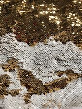 "New Mermaid Reversible Sequins On Spandex 58/60"" Sold By The YD."