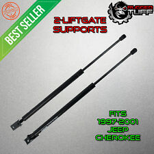 2 Rear Liftgate Hatch Shocks Lift Supports Fits 97-01 Jeep Cherokee Struts Arms