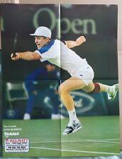 John McEnroe Original Vintage revista de tenis australiana Cartel