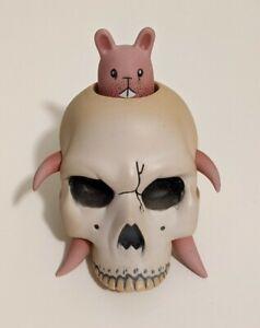 Frankenstein Blue /& Green Designer Toy New Mr Bone Halloween Blind box series 2