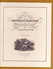 THE CABINET OF NATURAL HISTORY & AMERICAN RURAL SPORTS-1973, boxed, brand new