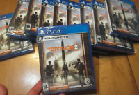 Tom Clancy's The Division 2 PS4 Sony DAY ONE EDITION BRAND NEW  FACTORY SEALED