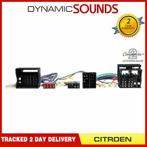 Connects2 CT10CT01 Parrot SOT T-Harness Adaptor ISO Wiring Lead For Citroen