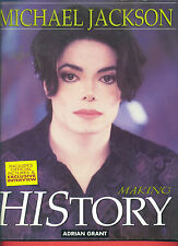 """MICHAEL JACKSON """"MAKING HISTORY"""" BIOGRAPHY WITH EXCLUSIVE PHOTOS-RARE BOOK SALE!"""