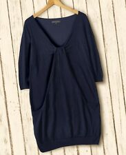 REVIEW Shirt Longshirt Minikleid Kleid 3/4el-Arm-Shirt Gr. M / L 42 44 blau K14