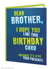 SALE Brother Bro Birthday Greeting Card Funny Comedy Humour Novelty Cheeky Joke