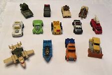 Vintage Lot of 13 Transformers G1 Minibots