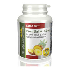 Simply Supplements Bromélaïne 350mg | 120capsules (e621)