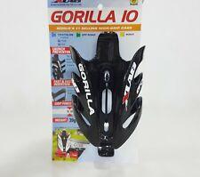 XLab Gorilla Carbon Rear Bottle Cage Gloss Black (10lbs Grip)