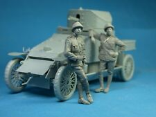 1:35 Copper State Models #F35-010  Belgian Armoured car officer