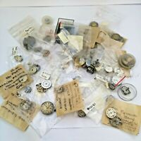 Lot of Vintage Watch Movements and Parts - For Watchmakers (DB7)