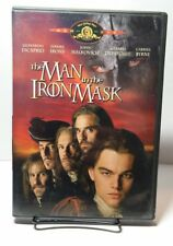 The Man in the Iron Mask (DVD,1998)Leonardo Dicaprio, Jeremy Irons-Free Shipping