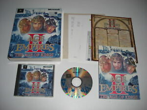AGE OF EMPIRES II THE AGE OF KINGS Pc Cd Rom Original AOE 2 BIG BOX - Fast Post