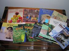 Large Lot of Wildlife Nature Chocolate Science Educational Learning Paperbacks
