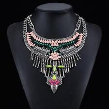 Markenlose Modeschmuck-Halsketten & -Anhänger aus Edelstein und Metall-Legierung