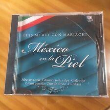 LUIS MI REY CON MARIACHI, MEXICO EN LA PIEL CD. 14 SONGS