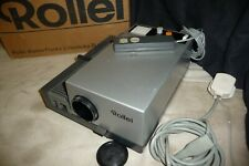 Slide projector ROLLEI P350A + remote slide tray CD info + BOX