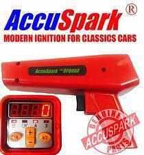 AccuSpark Ignition Chrome Finish Adjustable Strobe Timing Lamp / Light