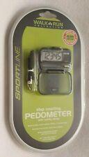 SportLine Walk Run Pedometer Step Distance & Calorie Counter New Sealed