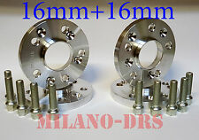 DISTANZIALI RUOTA 16+16mm 5x110-65.0 - ALFA ROMEO 159  Bullone CONICO