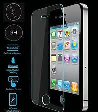 100% véritable verre trempé film écran tactile lcd protecteur pour iPhone 4 4G