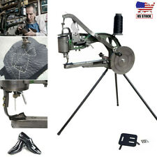 Hand Cobbler Manual Shoe Making Sewing Machine Leather Repair Stitching Equip US