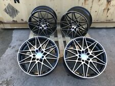 "4x Alloy Wheels 19"" Competition Style Staggered BMW 3 4 5 6 7 Series E90 F30 F10"