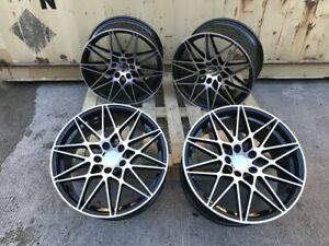 "19"" M3 / M4 COMPETITION ALLOY WHEELS 666M BMW RIMS F30 F31 4 / 3 SERIES M SPORT"