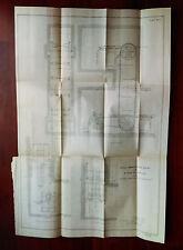 1899 Chain Ammunition Hoist for 8 inch U.S. Miltary Rifles Diagram Sketch