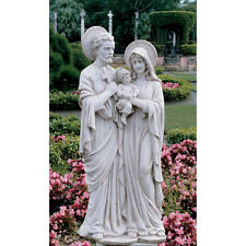 "The Holy Family Grande Sculpture Garden Design Toscano 42"" Statue"