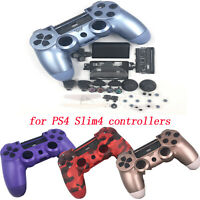 Repair Housing Shell Case Buttons Kit for Playstation PS4 Slim 4 Controller Part