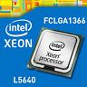 PAIR OF 2x Intel Xeon L5640 6-CORE LGA1366  2.26GHz CPU Processors ( SLBV8 )