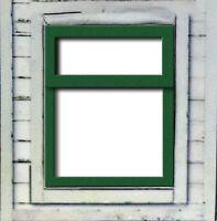 LC11 - Laser cut Small Fanlight Windows O scale pk of 6 Smart Models
