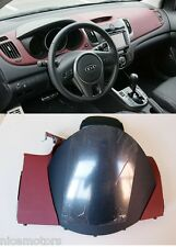 Genuine RED CLUSTER Fascia Dashboard Cover For KIA FORTE KOUP Cerato 2009-2013
