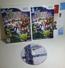 Super Smash Bros. Brawl (Nintendo Wii, 2008) Brand New / Factory Sealed In Case