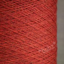 ZEGNA BARUFFA CashWool PURO MERINO WOOL 2 / 30V CARMINE RED laceweight cobweb filati