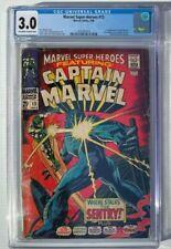 Marvel Super-Heroes #13 CGC 3.0 1st Carol Danvers Captain Marvel Avengers (014)