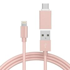 Just Wireless Usb To Usb-C Adapter - Pink Metallic - Brand New - Factory Sealed!