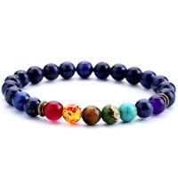 7 Chakra Lava Stone Diffuser Bracelets Natural Stone Yoga Meditation Healing 8MM