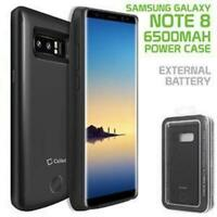 Samsung Galaxy Note 8 Heavy Duty Rechargeable Battery Case Cover 6500mAh- Cellet