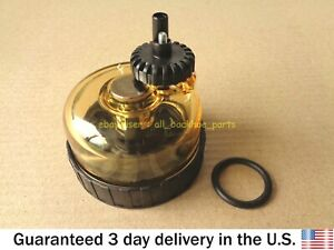 JCB BACKHOE - FUEL FILTER BOWL ASSEMBLY (PART NO. 32/925708)